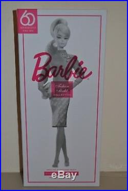 2019 Barbie Signature Silkstone BFMC PROUDLY PINK 60th Barbie NEW Damaged Box