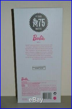 2019 Gold Label Silkstone BFMC Mattel 75TH ANNIVERSARY Barbie BRAND NEW RELEASE