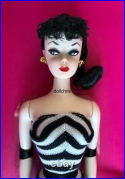 2020 Barbie Convention Brunette Silkstone Number 1 Mattel 75th Anniversary