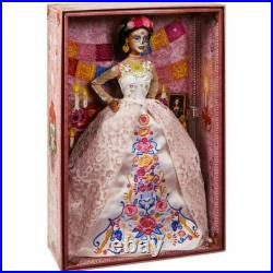2020 Barbie Dia De Los Muertos Day of The Dead DOTD 2 Doll White In Hand New