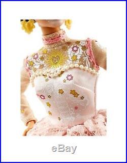 2020 Barbie Dia De Los Muertos Day of The Dead DOTD 2 Pink Doll White Dress New
