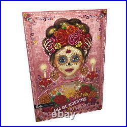 2020 Barbie Dia De Los Muertos Day of The Dead DOTD 2 Pink Skull Doll Mexico