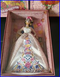 2020 Barbie Dia De Los Muertos Day of The Dead Doll Gold Label Signature IN HAND