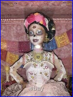 2020 Barbie Dia De Los Muertos Day of The Dead Pink Doll Brand New In Hand