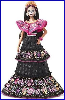 2021 Barbie Dia De Los Muertos Barbie Doll Day Of The Dead, Preorder Ships 9/10