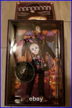 2021 Barbie Signature Dia De Los Muertos Ken Doll Day Of The Dead In Hand