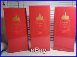3 RUSSIAN BARBIES SILKSTONE Mila, Ekaterina & Nicolai KEN Gold Label Ltd NIB Lot