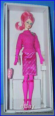 60th Anniversary Proudly Pink Silkstone Barbie Doll FREE Shipping