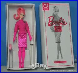 60th Anniversary Proudly Pink Silkstone Barbie Doll IN HAND READY TO SHIP