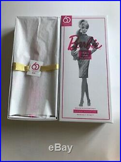 60th Anniversary SILKSTONE BARBIE PINK HAIR PROUDLY PINK DOLL
