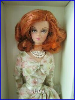 A DAY AT THE RACES Silkstone Barbie NRFB Gold Label Shelfwear on box