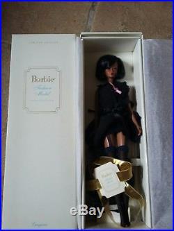 African American Silkstone Lingerie Barbie Doll #5