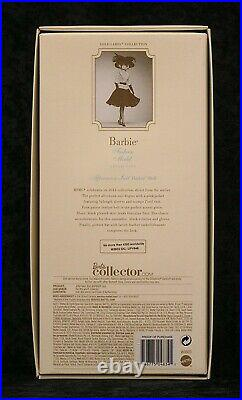 Afternoon Suit Barbie BFMC NRFB withShipper 2012 Gold Label 4,300 WW Mattel W3503