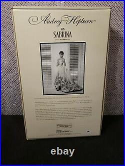 Audrey Hepburn As Sabrina Silkstone Barbie Doll 2012 Gold Label Mattel X8277