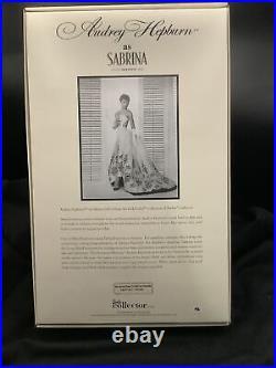 Audrey Hepburn As Sabrina Silkstone Barbie Doll Mattel X8277 Nrfb