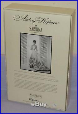 Audrey Hepburn as Sabrina Silkstone Barbie Doll 2012 #X8277 Gold Label