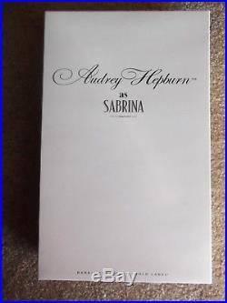 Audrey Hepburn as Sabrina Silkstone Doll. MIB