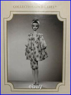 B528 Barbie Silkstone Doll Gold Label Luncheon Ensemble Nrfb