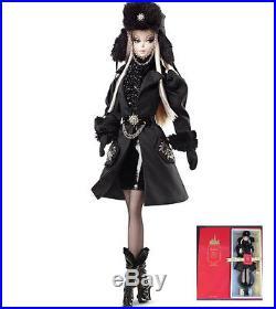 BARBIE FASHION MODEL COLLECTION Gold Label Verushka Silkstone Doll MINT-IN-BOX