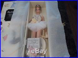 BARBIE Fashion Model Silkstone Prima Ballerina Doll NRFB MIB Gold Label