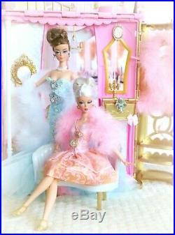 BARBIE SILKSTONE HOLLYWOOD HILLS SWAROVSKI MANSION Fashion Doll Collector BFMC