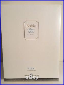 BARBIE SILKSTONE VIOLETTE DOLL NRFB BFMC Platinum Label