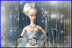 BARBIE SWAROVSKI SPOTLIGHT IN CHANEL SILKSTONE Fashion Doll Collector BFMC OOAK