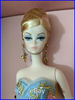BARBIE TRIBUTE SILKSTONE DOLL 2010 GOLD LABEL NRFB (see pictures & description)