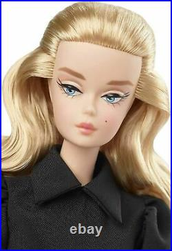 BEST IN BLACK BARBIE Doll, Fashion Model SILKSTONE, #GHT43 NEW with SHIPPER