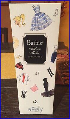 BFMC Debut Barbie Silkstone Doll AA NIB NRFB Gold Label