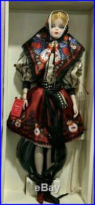 BFMC Mila Silkstone Barbie Doll 2011 Complete/Used Russian Collection VGC Minty