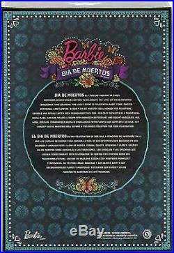 BRAND NEW Barbie Dia De Los Muertos(Day of The Dead) Doll IN HAND FAST SHIP