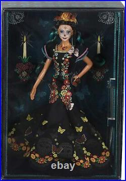 BRAND NEW Barbie Dia De Los Muertos Day of The Dead Doll Mattel 2019 IN HAND