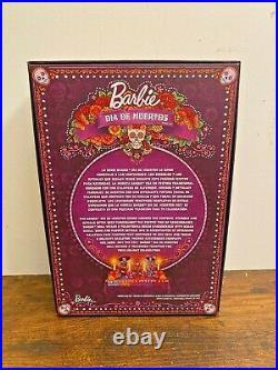 Barbie 2021 Female Dia De Los Muertos Day of The Dead Doll Mattel FAST SHIPPING