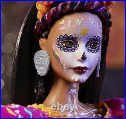 Barbie 2021 Female Dia De Los Muertos Day of The Dead Doll Mattel - Preorder