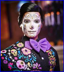 Barbie 2021 Ken Dia De Los Muertos Day of The Dead Doll Mattel Ships 09/04