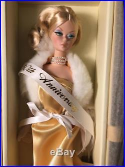 Barbie 50th Ann 2009 Gaw Gold Label Golden Enchantment Silkstone Doll Nrfb