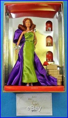 Barbie Anemone Silkstone Doll By Christian Louboutin R4487 Mattel Fashion Model