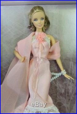 Barbie Badgley Mischka Silkstone Doll Gold Label Collection J9180 Mattel Fashion