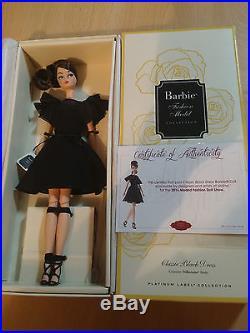 Barbie Classic black dress silkstone Madrid Convention doll 2016
