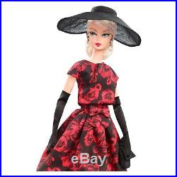 Barbie Collector BFMC Elegant Rose Cocktail Dress Silkstone Doll Mint