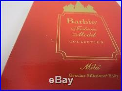 Barbie Collector's Doll Fashion Model Mila Silkstone Body 1 Of 5800 Gold Label