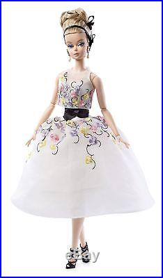 Barbie DGW56 Collection Classic Cocktail Dress Silkstone Doll Glam Gown