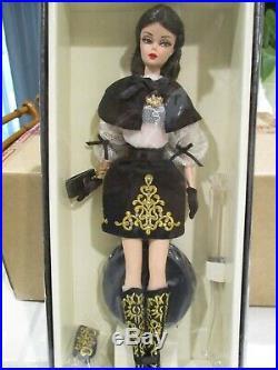 Barbie DULCISSIMA Porcelain silkstone Fashion Model 2013 Mattel BCP82 DOLL NRFB