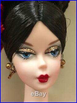 Barbie Darya Silkstone Doll 2010 Gold Label Mattel Nrfb