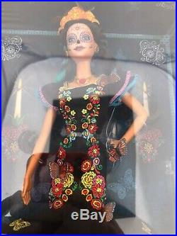 Barbie Day of The Dead Dia De Los Muertos Doll FREE SAME-DAY PRIORITY SHIPPING