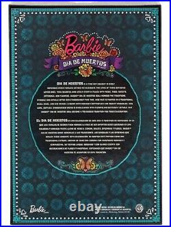 Barbie Dia De Los Muertos Day of The Dead Doll Mattel 2019 In Hand Limited