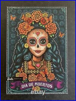 Barbie Dia De Los Muertos Day of The Dead Doll Mattel 2019 SEE PICS/DESCRIPTION