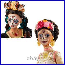 Barbie Dia De Los Muertos Doll Day of The Dead DOTD 2019/2020 Set NEW