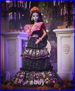 Barbie Dia De Los Muertos Doll In Hand GXL27 2021